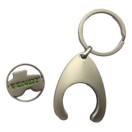 Key fob with trolley chip