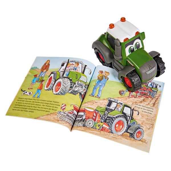 HAPPY TRACTOR WITH BOOK