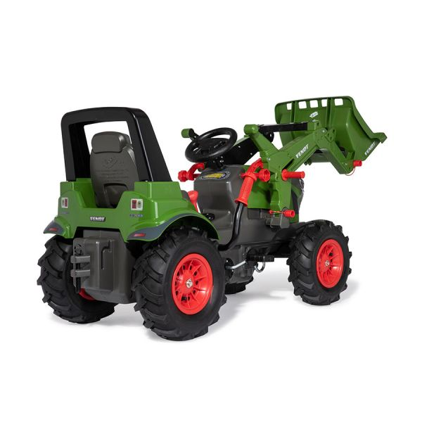FENDT 942 VARIO with front loader, gears, brake & pneumatic tyres