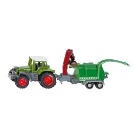 Fendt 926 Vario With Wood Chipper
