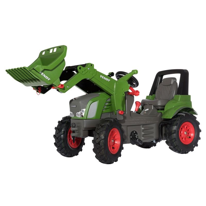 FENDT 939 VARIO with front loader & two gears, brake & pneumatic tyres