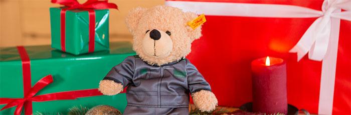 Teddy bear xmas Fendt